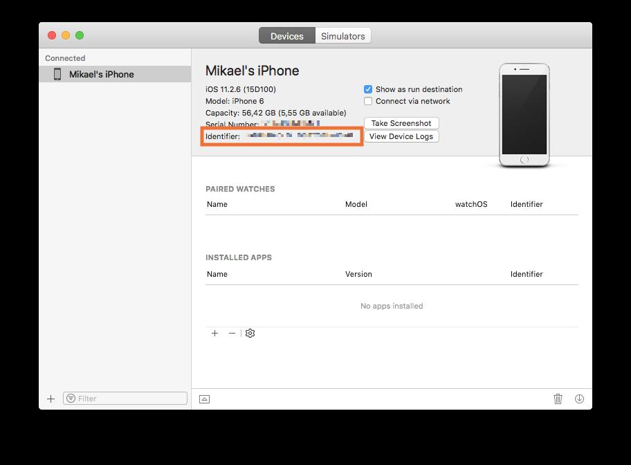 Defold development for the iOS platform