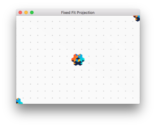 Fixed fit projection when smaller